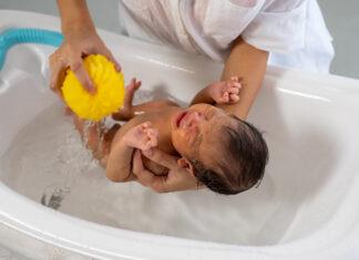 czym myć ciało niemowlęcia?